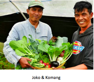 Joko and Komang